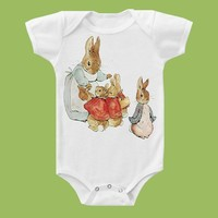 Peter Rabbit II Onesuit ,Tank or T-Shirt by ChiTownBoutique.etsy