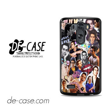 Dylan O'brien Photo Collage For LG G3 Case Phone Case Gift Present