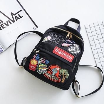 Comfort Back To School Supreme Stylish College Casual Fashion Backpack [11516239884]