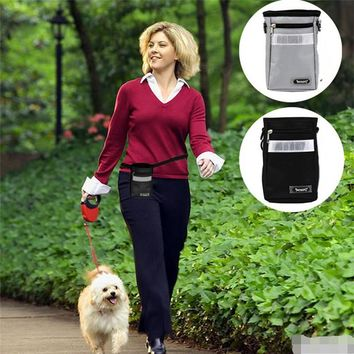 Portable Detachable Dog Training Treat Bags Doggie Pet Feed Pocket Pouch Puppy Snack Reward Waist Bag with Belt
