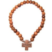 Olive wood Orthodox chaplet Rosary - Chotki (33 Beads, size 8mm)