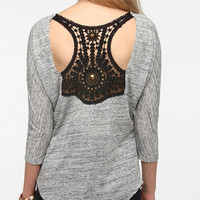 Urban Outfitters - Sparkle & Fade Applique-Back Tunic Top