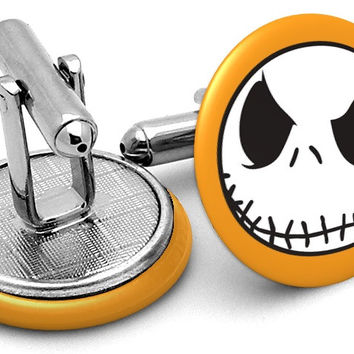 Nightmare Before Christmas Cufflinks