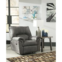 Signature Design by Ashley Bladen Rocker Recliner in Faux Leather