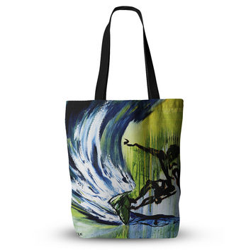 "Josh Serafin ""Greenroom"" Green Surfer Everything Tote Bag"