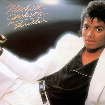 Michael Jackson Thriller Album Cover Poster 11x17