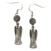 Doctor Who Don't Blink Weeping Angel Drop Earrings
