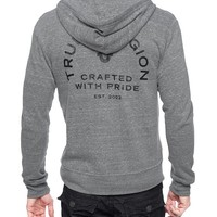True Religion Crafted With Pride Hoodie - Heather Grey