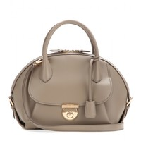 salvatore ferragamo - fiamma small leather tote