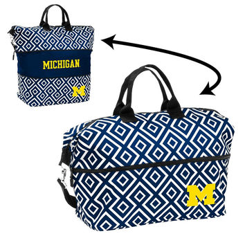 Michigan Wolverines NCAA Expandable Tote