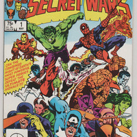 Marvel Super Heroes Secret Wars; V1, 1.  NM-. May 1984.  Marvel Comics