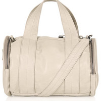 Sporty Barrel Holdall - Stone
