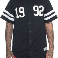 The 1992 Baseball Jersey in Black