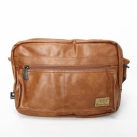 On Sale Back To School Hot Deal Comfort Stylish College England Style Bags PU Leather Men One Shoulder Casual Vintage Backpack [6583343943]