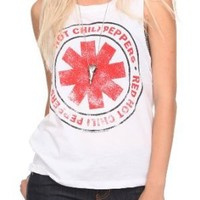 Red Hot Chili Peppers Logo Tank Top