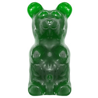 World's Largest Gummy Bear Candy Gift Box - Green Apple