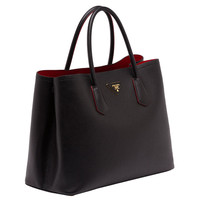 Prada Saffiano Double Bag
