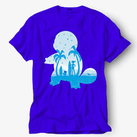 Blue companion pokemon Shirt, Hot product on USA, Funny Shirt, Colour Black White Gray Blue Red