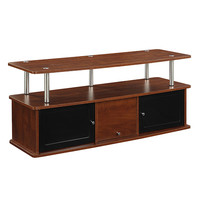 Convenience Concepts 151202CH Designs2go Cherry TV Stand with Three Cabinet