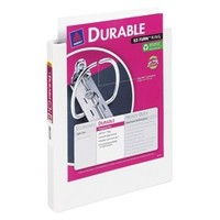"Avery 1.5"" Durable View Binder - White"