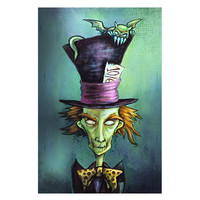 Lowbrow Art Company Mad Hatter Art Print by Artist Diana Levin