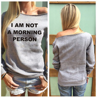Grey Graphic Print Casual Sweatshirt