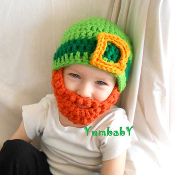 Leprechaun Beard Hat for Saint Patrick's Day!