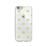 Prince Frog Pattern Transparent Silicone Plastic Phone Case for iphone 7 _ LOKIshop (iphone 7)