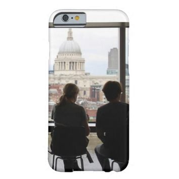 Cafe Shop Window View Barely There iPhone 6 Case