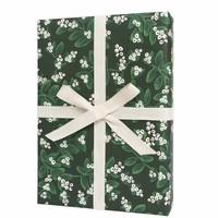 Evergreen Mistletoe Rifle Paper Co. Wrapping Sheets - Roll