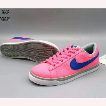 NIKE pioneer fashion casual canvas shoes F-HAOXIE-ADXJ Pink