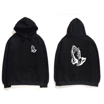 ca qiyif Praying Hoodies Sweatshirt