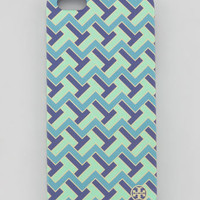 T-Zag Printed Hard Shell iPhone 5 Case, Mint