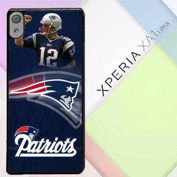 New England Patriots X3405 Sony Xperia XA1 Ultra Case