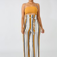 Emory Park Stripe Overal Pant