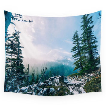 Society6 Overlook The Wilderness Wall Tapestry