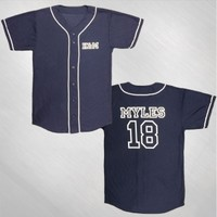 Kalin and Myles - Myles Baseball Jersey [KAM4A3015]: Now Just $50.00