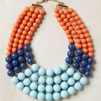 Barbados Bib Necklace by Anthropologie Multi One Size Necklaces