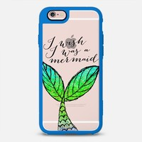 I wish I was a mermaid 02 iPhone 6s case by Noonday Design | Casetify