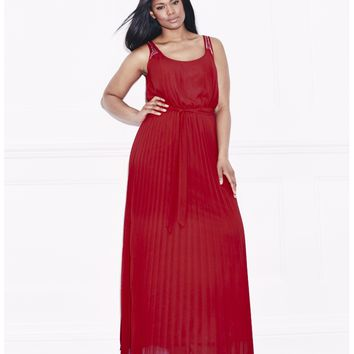 Lovedrobe Pleat Maxi Dress