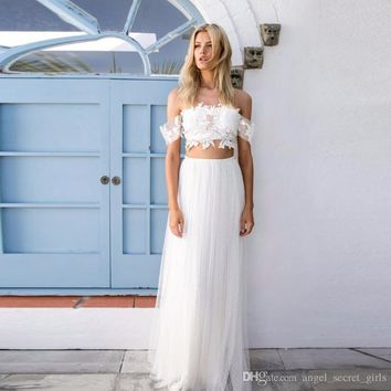 Simple White Long Skirt Elastic Waist A Line Floor Length Maxi Skirt wedding bridesmaid white waist skirt high quality