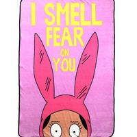 Bob's Burgers Louise Throw Blanket