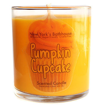 Pumpkin Cupcake Scented Candle
