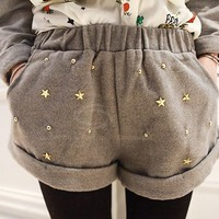 Star Studded Shorts -more colors!