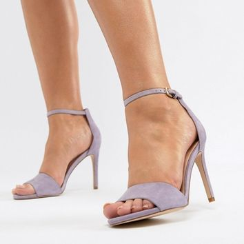 ALDO Wide Fit Fiolla Barely There Sandal at asos.com