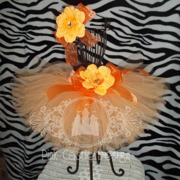 Perfectly Peach Tutu Skirt  - Choose color - Baby, Infant, Toddler - Dance, Fun, Pageant, Birthday - Photo - Girl