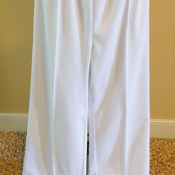 Vintage Nurse's Uniform Pants / Extra Small, Small