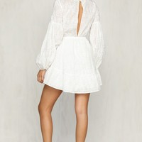 Happy Together Dress (White)