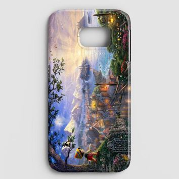 Disney Peter Pan Tink Fairy Wings Pixie Dust Bun Samsung Galaxy S7 Case