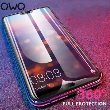 9H Hardness Full Cover Tempered Glass For Huawei P20 P10 P9 Lite Screen Protector For huawei P8 lite 2017 P20 pro Glass Film